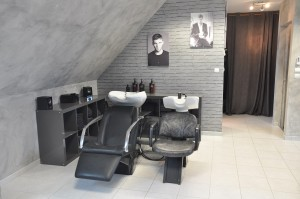 bac shampoing homme