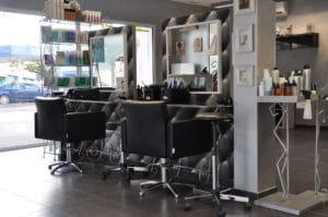 Vue rdc salon envisage coiffure
